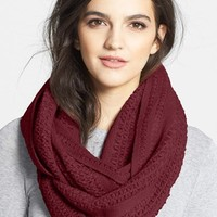 Women's Collection XIIX 'Cross Stitch' Infinity Scarf