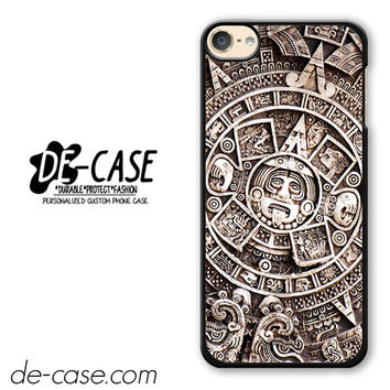 Maya Aztec Calendar DEAL-7007 Apple Phonecase Cover For Ipod Touch 6