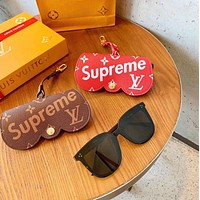 Louis Vuitton LV x Supreme Glasses Storage Charm And Key Holder
