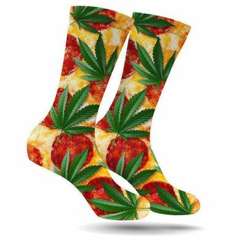 PIZZA & KUSH CREW SOCKS