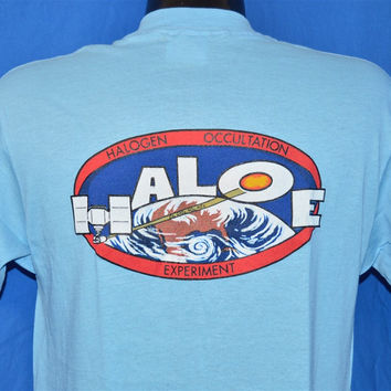 90s NASA Haloe Hydrogen Occultation Experiment Team t-shirt Medium