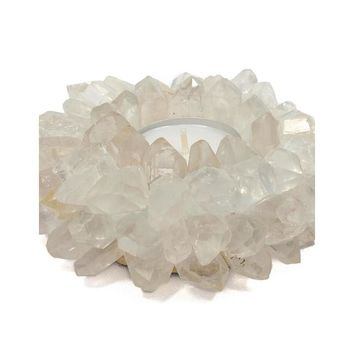 Quartz Crystal Votive