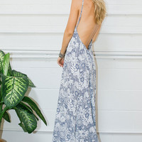 Scoop Back Maxi