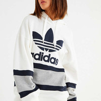 adidas Originals Colorblock Hoodie Sweatshirt | Urban Outfitters