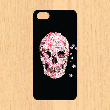 Flower Skull  Art iPhone 4/4S 5/5C 6/6+ Case and Samsung Galaxy S3/S4/S5