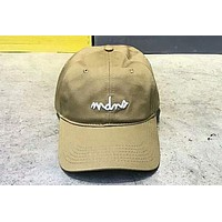 MADNESS MDNS 2018 summer new sunshade cap embroidery letter cap F-Great Me Store khaki