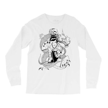 japanese dragon Long Sleeve Shirts