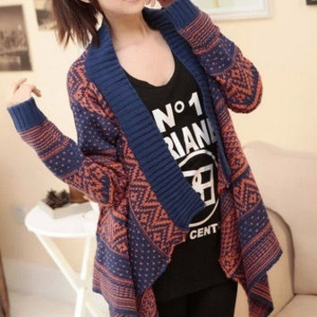2014 new fashion women's winter casual full batwing sleeve Knitting sweaters loose wraps bat sleeve cardigans winter shawl new knitwear sweater  one size = 1946460100