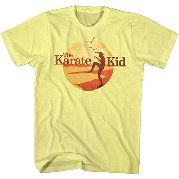 Karate Kid Sunset Kid Tee Shirt