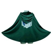 Pixnor® Attack on Titan (Shingeki No Kyojin) Survey Cosplay Cloak 5 Sizes