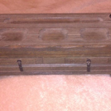 Vintage 1960s Made in Japan Rustic Jewelry Box
