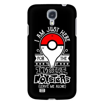 Pokemon i am just here for the invisible monsters ( leave me alone) Android Phone Case - TL00631AD