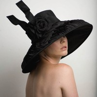 Couture Derby Hat- Lampshade Hat