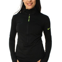 Nike Pro Women's Hyperwarm Half Zip Training Jacket