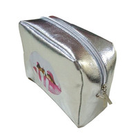 Beauty On Sale Hot Sale Hot Deal Black Christmas Silver Birthday Waterproof Alphabet Make-up Bag [11604471503]