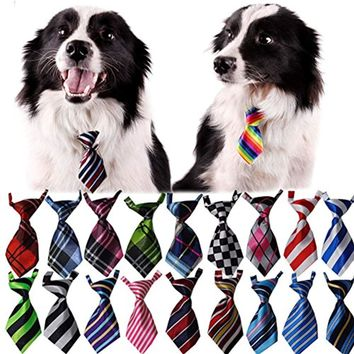Adorable 30 Pcs/pack Dog or Cat Bow Tie Collar - Pet Neckties