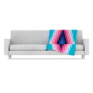 "Nika Martinez ""Surf Lovin II"" Fleece Throw Blanket"