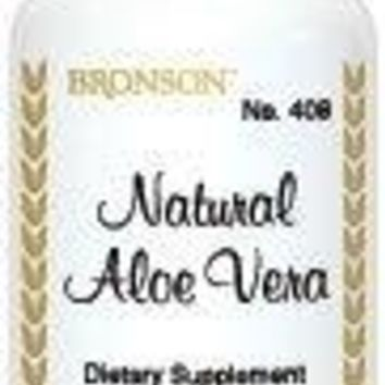 [Pack  of 2] Bronson Natural Aloe Vera, 100 Capsules Each