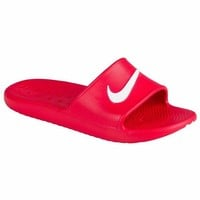 VOND4H Nike KAWA SHOWER Men's Slide Red/White Slipper 832528 600 Free Shipping