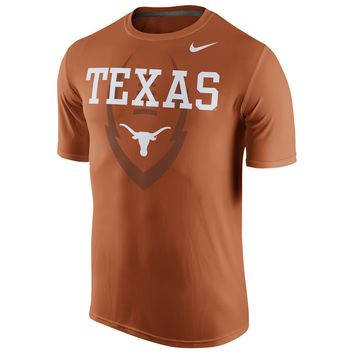 Texas Longhorns Nike Football Icon DRI-FIT T-Shirt - Men's Sizes XL & Large NWT