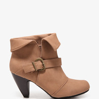 Buckled Strap Booties | FOREVER 21 - 2031557025
