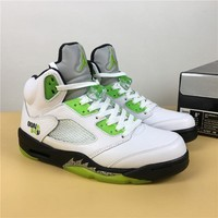Air Jordan 5 Retro Quai 54 Sneaker Shoe