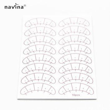 Navina 80 pairs/pack Paper Patches Under Eye Pads False Eyelash Extension Paper Patches Eye Tips Sticker Wraps Make Up Tools
