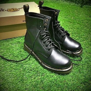 Newest Dr. Martens Modern Classics 1460 Retro Black Leather Boots