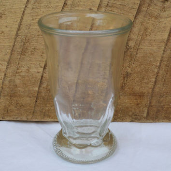 Vintage Footed Glass Juice Cup ( Listed Individual - Availability 6)