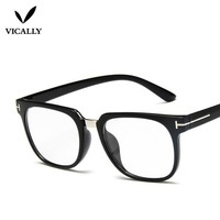 Vintage Glasses Frame Big Oversize Eyeglasses Women Men Brand Design Computer Eye Glasses Optical spectacle Frame Oculos De Grau