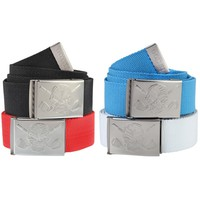 Web Golf Belts w/ Bottle Opener (Solid Colors)