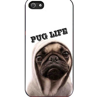 Funny Pug Life iPhone 5s For iPhone 5/5S Case