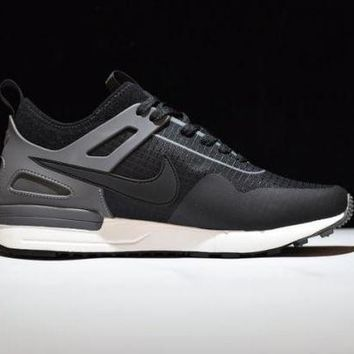 DCCKY4E New Nike air pegasus 89 Grey & Black Color Men's Running Shoes