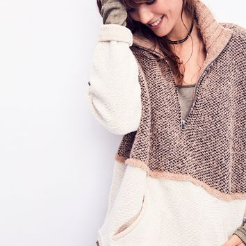 Free People Pop That Collar Pullover