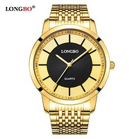 Quartz Watch lovers Watches Women Men Couple Analog Watches Steel Wristwatches Fashion Casual Watches Gold