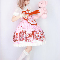 Doll Hospital~ Lolita Printed JSK Dress $64.99 - My Lolita Dress