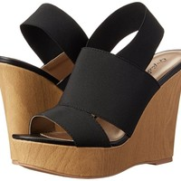 Qupid Women's Clemence-118 Wedge Sandal