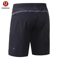 """lululemon"" Men's fitness, dry and breathable running five - point pants"