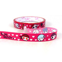 Pirates Skull Decorative Tape Deco Adhesive Stickers by CharmTape