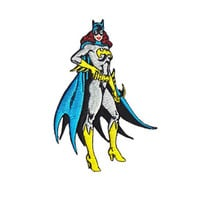 Batgirl Standing Iron-On Patch