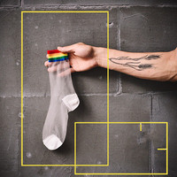 over the rainbow - the crew socks