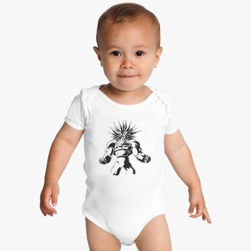 Dragon Ball Z - Super Future Trunks T-Shirt - 100% Cotton - Anime - Manga - DBZ Baby Onesuits