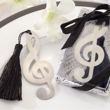 Wedding Gifts for Guest Musical Notes/Angel/Butterfly/Key Bookmarks Creative Gift for Birthday Party Decorations Kids Favors