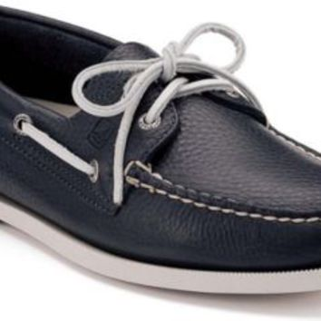 Sperry Top-Sider Authentic Original 2-Eye Boat Shoe NewNavy, Size 11M  Men's Shoes