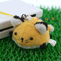 Soft and Downy Mini Animal Stuffed Toy Cell Phone Strap (Fox)