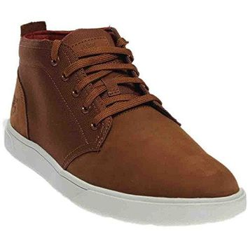 Timberland Men's Groveton Leather Fabric Boot  timberland boots for men
