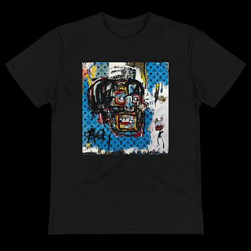"Limited ""LV x JMB"" Skull T-Shirt - Available in Black & White"