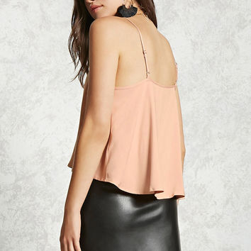 High-Low Square Neck Cami