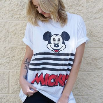 Google Eyes Mickey Tee