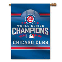 Chicago Cubs Official MLB World Series Champions House Flag